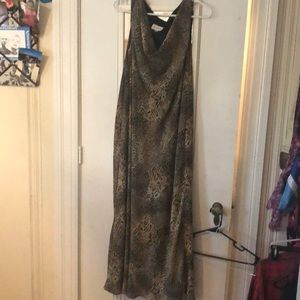 Studio 1 leopard print long dress
